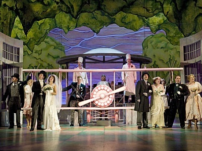 The 2008/09 production of THE DROWSY CHAPERONE. Photo by David Cooper